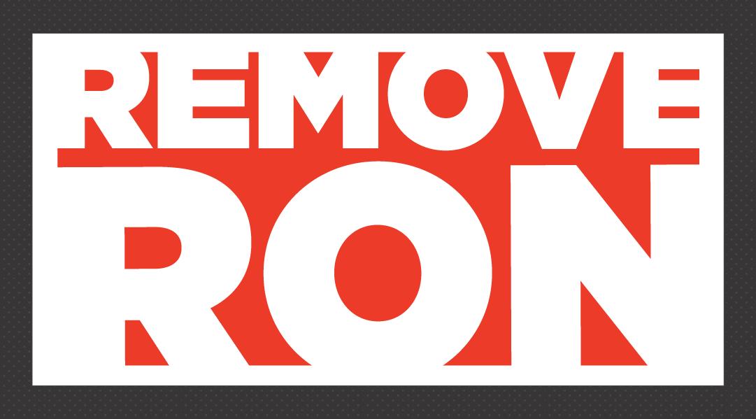 Remove Ron